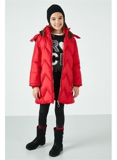 Lela Lela Mont Kiz Çocuk MONT 5766000 Kırmızı
